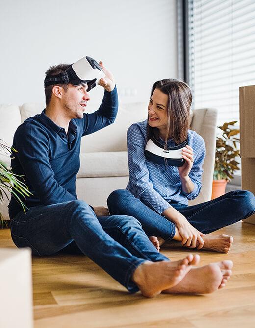 Arreda 2.0 utilizza visori di realtà virtual per immergerti nel progetto della tua nuova realtà domestica